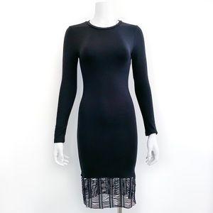 Topshop Long Sleeve Dress w/ Decorative Trim